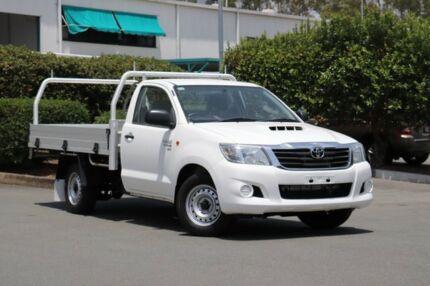 2013 Toyota Hilux KUN16R MY14 SR 4x2 Glacier 5 Speed Manual Cab Chassis Acacia Ridge Brisbane South West Preview