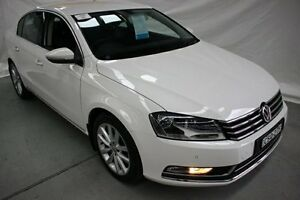 2013 Volkswagen Passat Type 3C MY14 130TDI DSG Highline White 6 Speed Sports Automatic Dual Clutch Maryville Newcastle Area Preview