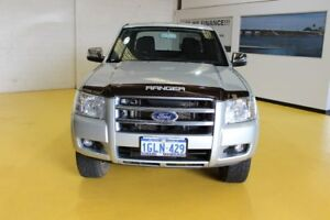 2007 Ford Ranger PJ XLT Crew Cab Silver 5 Speed Manual Utility