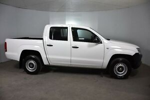 2013 Volkswagen Amarok 2H MY13 TDI420 4Motion Perm White 8 Speed Automatic Utility Mount Gambier Grant Area Preview