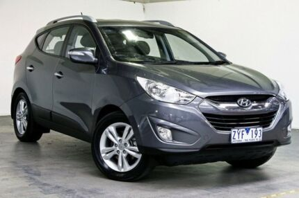 2013 Hyundai ix35 LM3 Elite Grey 6 Speed Sports Automatic Wagon Southbank Melbourne City Preview