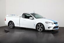 2010 Ford Falcon FG XR6T White 6 Speed Manual Utility Mulgrave Hawkesbury Area Preview