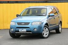 2005 Ford Territory SX Ghia AWD Blue 4 Speed Sports Automatic Wagon Heatherton Kingston Area Preview