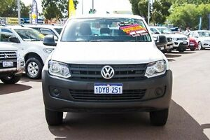2011 Volkswagen Amarok 2H TDI340 White 6 Speed Manual Utility Wilson Canning Area Preview