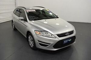 2014 Ford Mondeo MC LX Silver 6 Speed Sports Automatic Wagon Moorabbin Kingston Area Preview