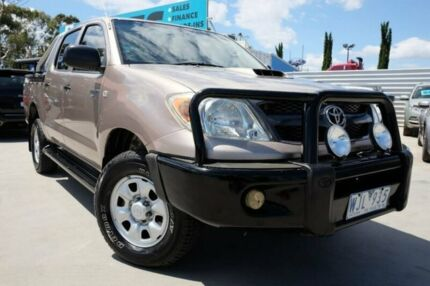 2008 Toyota Hilux KUN26R MY08 SR Gold 5 Speed Manual Utility
