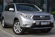 2012 Toyota Kluger GSU45R MY12 Grande AWD Silver 5 Speed Sports Automatic Wagon Burnside Melton Area Preview