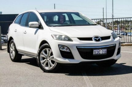 2011 Mazda CX-7 ER MY10 Classic Sports (4x4) White 6 Speed Auto Activematic Wagon Wangara Wanneroo Area Preview