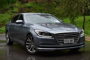2014 Hyundai Genesis DH Sensory Pack Grey 8 Speed Sports Automatic Sedan St Marys Mitcham Area Preview