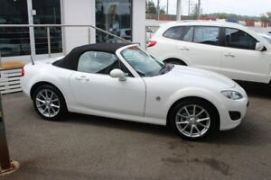 2012 Mazda MX-5 NC30F2 MY09 Touring White 6 Speed Manual Softtop