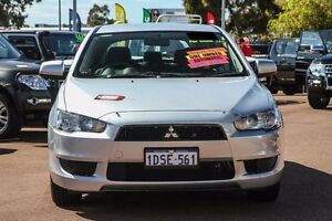2011 Mitsubishi Lancer CJ MY11 ES Sportback Silver 6 Speed Constant Variable Hatchback Cannington Canning Area Preview