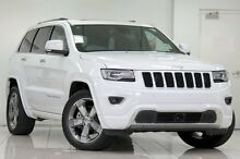 2015 Jeep Grand Cherokee WK MY15 Overland (4x4) Bright White 8 Speed Automatic Wagon Chatswood West Willoughby Area Preview