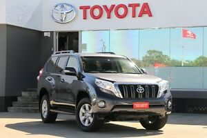 2016 Toyota Landcruiser Prado GDJ150R MY16 GXL (4x4) Graphite 6 Speed Automatic Wagon Old Guildford Fairfield Area Preview