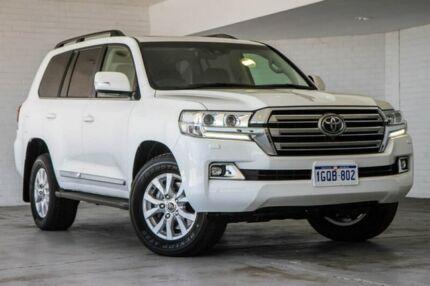 2017 Toyota Landcruiser VDJ200R Sahara White 6 Speed Sports Automatic Wagon Bellevue Swan Area Preview