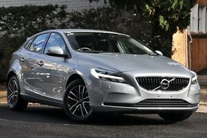 2016 Volvo V40 M MY17 T3 Momentum Silver 8 Speed Automatic Hatchback Mosman Mosman Area Preview