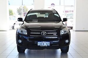 2009 Toyota RAV4 GSA33R 08 Upgrade SX6 Black 5 Speed Automatic Wagon Morley Bayswater Area Preview