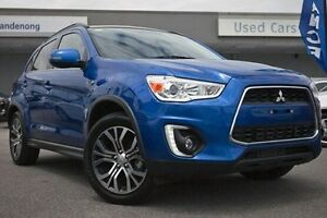 2015 Mitsubishi ASX XB MY15.5 XLS Blue 6 Speed Sports Automatic Wagon Dandenong Greater Dandenong Preview