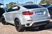 2009 BMW X6 E71 MY10 xDrive35i Coupe Steptronic Silver 6 Speed Sports Automatic Wagon Osborne Park Stirling Area Preview