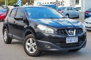 2012 Nissan Dualis J10W Series 3 MY12 ST Hatch X-tronic 2WD Black 6 Speed Constant Variable Myaree Melville Area Preview