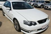 2005 Ford Falcon BA Mk II XR6 Turbo White 4 Speed Sports Automatic Sedan Underwood Logan Area Preview
