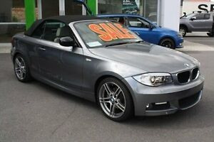 2013 BMW 120I E88 LCI MY1112 Steptronic Grey 6 Speed Sports Automatic Convertible Mount Gravatt Brisbane South East Preview