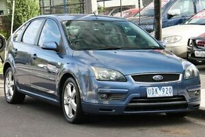2006 Ford Focus LS Zetec Light Blue Metallic 5 Speed Manual Hatchback Briar Hill Banyule Area Preview