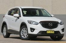 2013 Mazda CX-5 MAXX SPORT (4x4) Maxx Sport (4x4) White 6 Speed Automatic Wagon Arncliffe Rockdale Area Preview