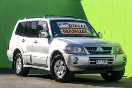 2006 Mitsubishi Pajero NP MY06 GLS Silver 5 Speed Manual Wagon Ringwood East Maroondah Area Preview