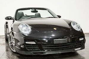 2008 Porsche 911 997 MY08 Turbo AWD Black 6 Speed Manual Cabriolet Rozelle Leichhardt Area Preview