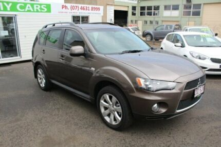 2012 Mitsubishi Outlander ZH MY12 LS 2WD Ironbark 6 Speed Constant Variable Wagon