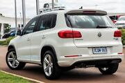2014 Volkswagen Tiguan 5N MY15 155TSI DSG 4MOTION R-Line Pure White 7 Speed Wangara Wanneroo Area Preview
