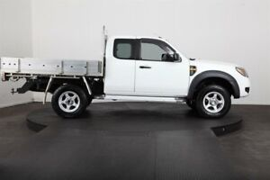 2010 Ford Ranger PK XL (4x4) White 5 Speed Manual Super Cab Chassis