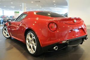 2014 Alfa Romeo 4C TCT Alfa Red 6 Speed Sports Automatic Dual Clutch Coupe Artarmon Willoughby Area Preview