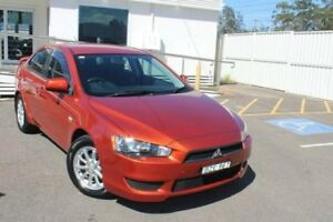 2011 Mitsubishi Lancer CJ MY11 SX Orange 5 Speed Manual Sedan Gosford Gosford Area Preview