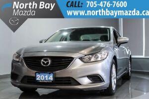 2014 Mazda Mazda6 GX Heated Front Seats + Alloy Wheels + Bluetoo