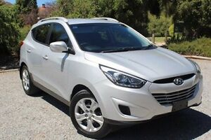 2013 Hyundai ix35 LM2 Active Silver 6 Speed Sports Automatic Wagon Hawthorn Mitcham Area Preview
