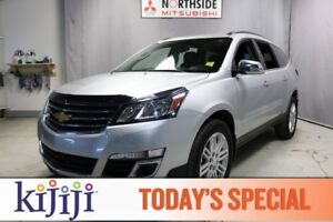 2015 Chevrolet Traverse AWD LT Heated Seats,  Sunroof,  Back-up
