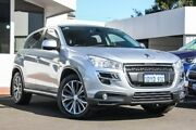 2012 Peugeot 4008 MY12 Active 4WD Silver 6 Speed Constant Variable Wagon Victoria Park Victoria Park Area Preview