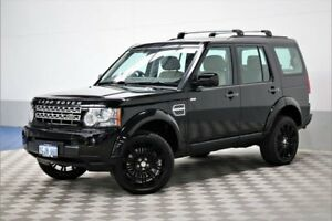 2010 Land Rover Discovery 4 MY10 5.0 V8 Black 6 Speed Automatic Wagon