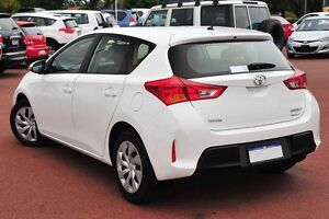 2014 Toyota Corolla ZRE182R Ascent S-CVT White 7 Speed Constant Variable Hatchback Westminster Stirling Area Preview