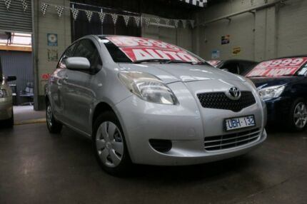 2006 Toyota Yaris NCP90R YR 4 Speed Automatic Hatchback Mordialloc Kingston Area Preview