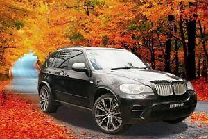 2012 BMW X5 E70 MY12.5 M50d Steptronic Black 8 Speed Sports Automatic Wagon Greenacre Bankstown Area Preview