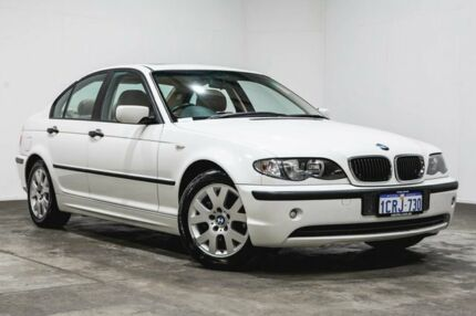 2002 BMW 318i E46 MY2002 Steptronic White 5 Speed Sports Automatic Sedan Welshpool Canning Area Preview
