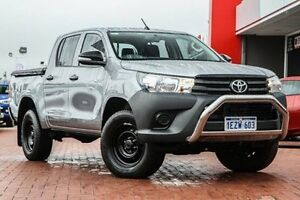 2015 Toyota Hilux GUN125R Workmate Double Cab Silver 6 Speed Sports Automatic Utility Bellevue Swan Area Preview