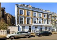 Amazing three bedroom flat in Pimlico, on three levels with two bathrooms and on a gorgeous street