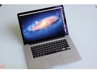 "MacBook Pro 15"" Retina - Highest Spec! - 2.7GHz i7 Quadcore, 16GB ram, 768GB Flash (nearly 1TB)"