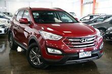 2013 Hyundai Santa Fe  Red Sports Automatic Wagon Frankston Frankston Area Preview