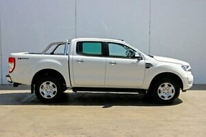 2016 Ford Ranger PX MkII XLT Double Cab 4x2 Hi-Rider White 6 Speed Sports Automatic Utility Christies Beach Morphett Vale Area Preview