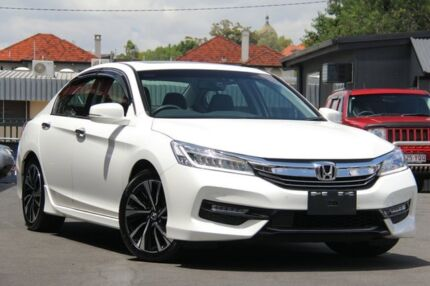 2017 Honda Accord 9th Gen MY17 V6L White 6 Speed Sports Automatic Sedan Nundah Brisbane North East Preview