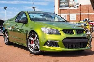 2015 Holden Special Vehicles Maloo GEN-F MY15 R8 Green 6 Speed Manual Utility Fremantle Fremantle Area Preview